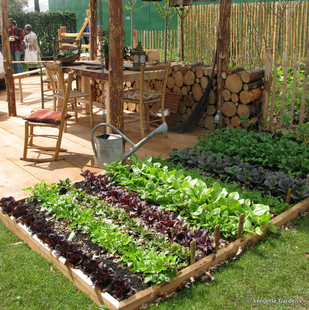 Plant shows and fairs vergette gardens for Vegetable patch ideas