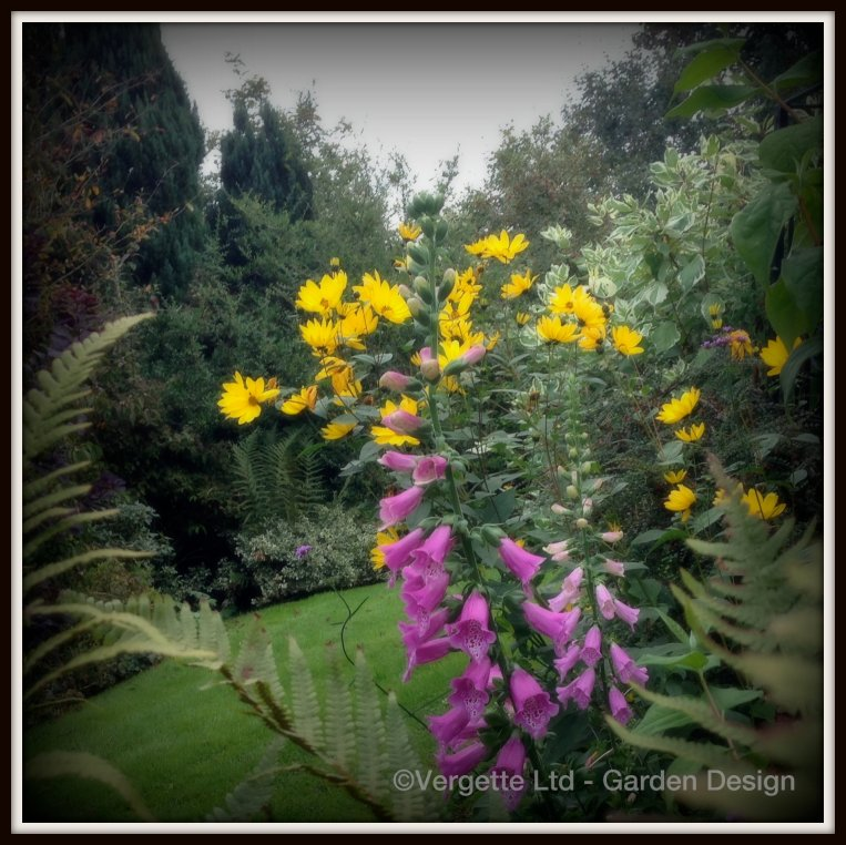 Yellow and Pink - not my favourite colour combination