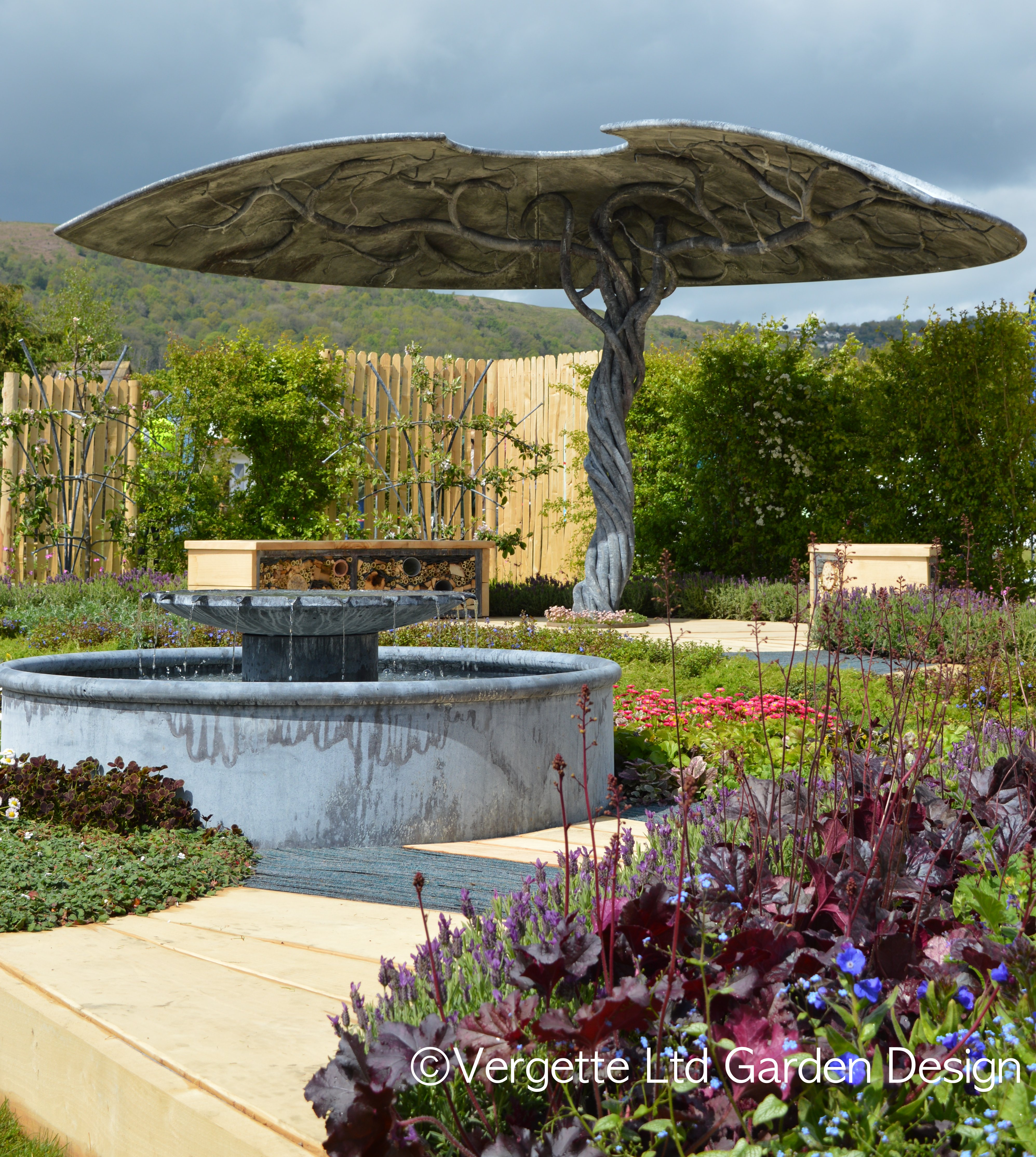 Vergette Ltd Garden Design Hereford Worcester Vergette Gardens
