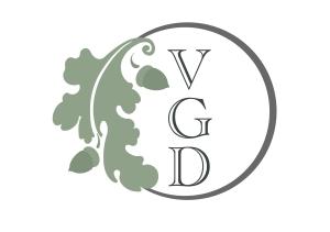 Round Vergette Garden Designer Logo